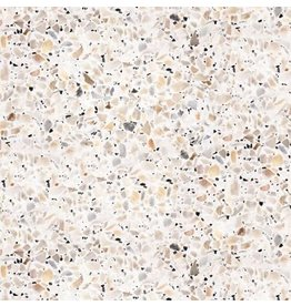 Terrazzo Tile- Tan/Gray Peel & Stick Wallpaper