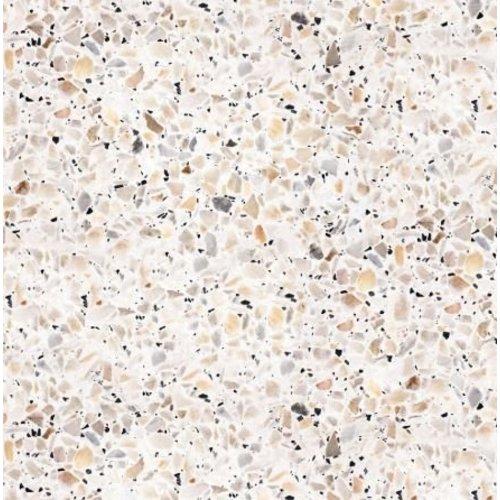 Terrazzo Tile- Tan/Gray Peel & Stick Wallpaper
