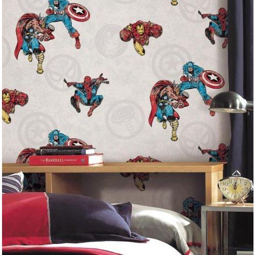 Avengers Classic - Multi Peel & Stick Wallpaper