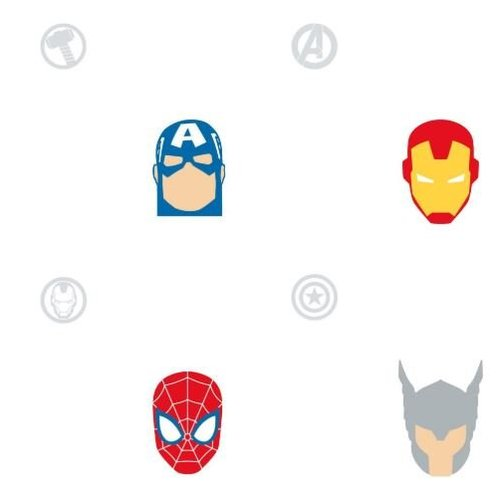 Avengers Character Spot - Multi Peel & Stick Wallpaper
