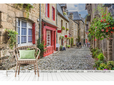 Street Old Town in Europe