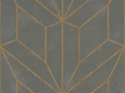 Geometric Wood and Grey Mix