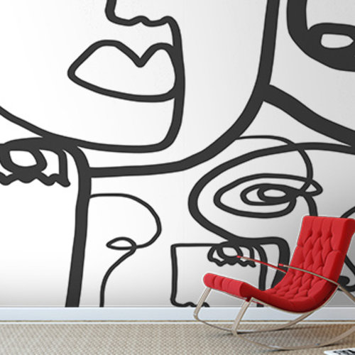 Abstract Custom Mural