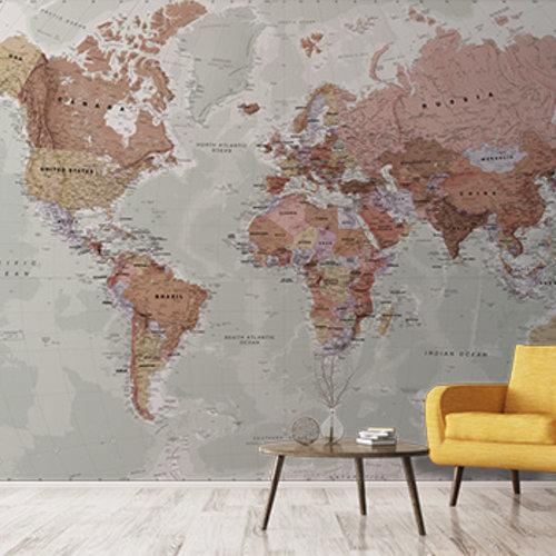 Maps custom Murals