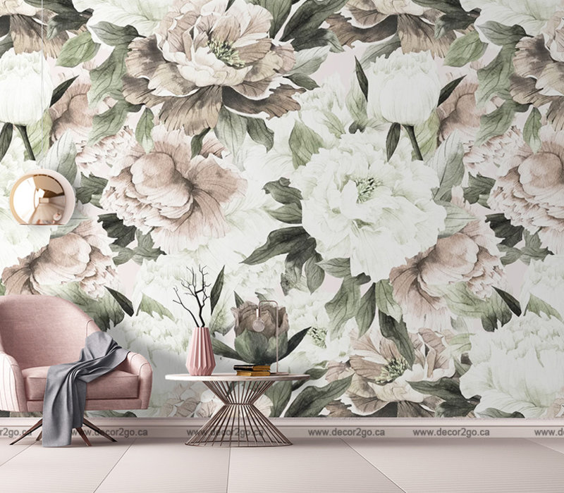 Vintage Blush Floral