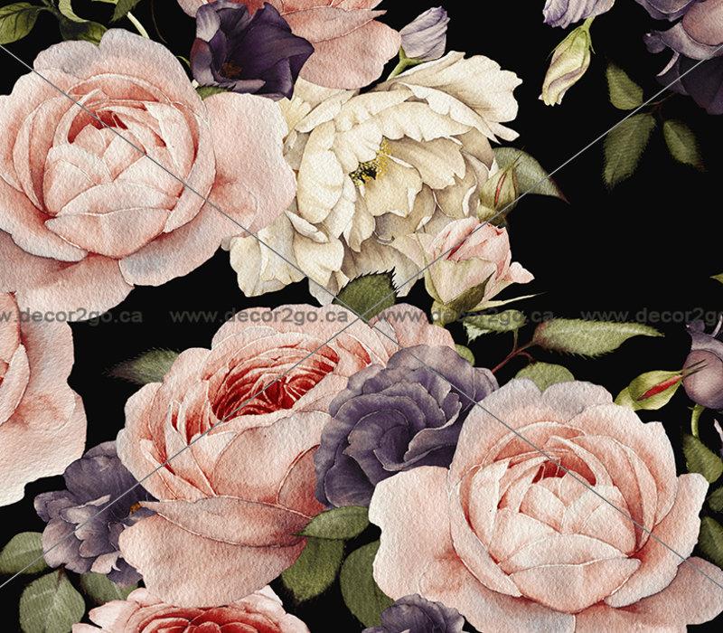 Roses Floral Mural