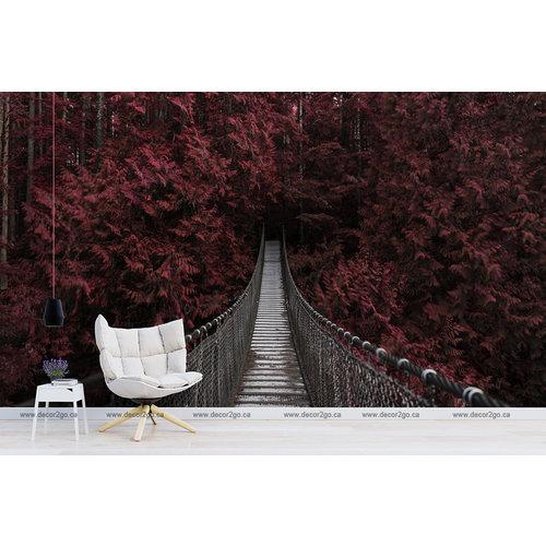 Suspension Bridge on Red Forest