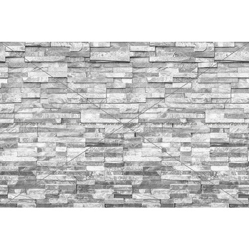 Realistic Grey Brick