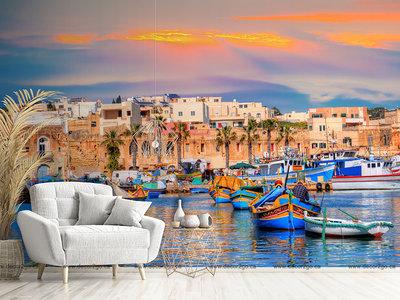 Marsaxlokk Village Port of Malta