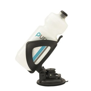 Water Bottle Suction Cup Adjustable BLACK