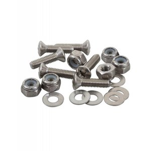 """Sealect Designs #10-32 x 1"""" Oval Head w/ Nyloc Nut and Washer (6 Pack)"""