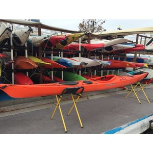 P&H Sea Kayaks Venture Capella 166 Lava 16'7 USED dbsbv
