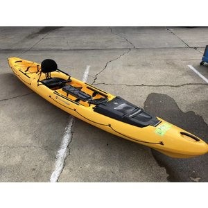 """Wilderness Systems Thresher 155 Yellow 15'6"""" USED 000s7"""