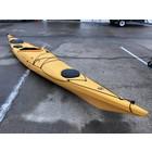"Venture Kayaks Venture Jura HV Skudder USED Yellow 16'1""  hgfay"