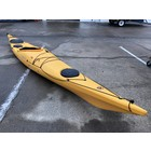 "Venture Kayaks Venture Jura HV Skudder Yellow 16'1"" USED"