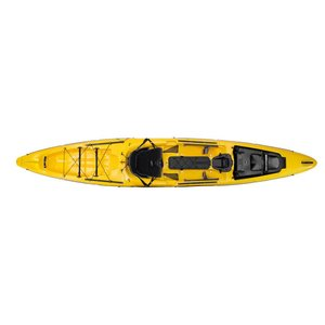 """Wilderness Systems Thresher 155 Yellow 15'6"""" USED 0002y"""