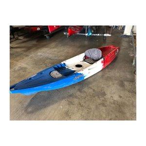 "Feel Free Kayaks Feel Free Juntos B/W/R 11'3"" USED 06261wc"