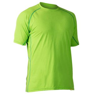 NRS NRS H2Core Silkweight Short Sleeve Shirt Spring Green Heather MD  SALE