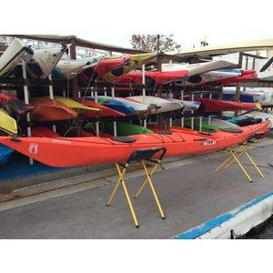 "Valley Sea Kayak Valley Sirona RM Orange 16'1"" USED c0130"