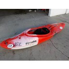 "Pyranha Pyranha Burn III Small Red/Gry/Wht 7'10"" USED jdrah"