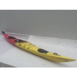 "Perception Kayaks Perception Shadow Red/Yellow 16'8"" USED 98157"
