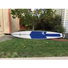 "Hobie Hobie SUP Apex Pro RAW 12.6 USED White/Blue 12'6"" x 25.75"""