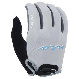 NRS NRS Women's Rafter's Gloves Full Fingers SALE! Light Gray SM