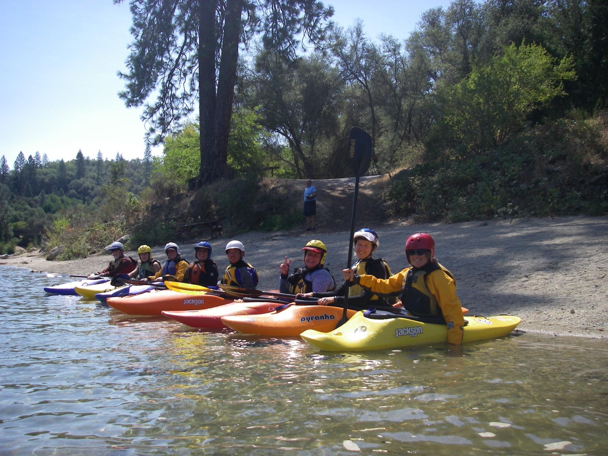Whitewater Kayak Classes - California Canoe & Kayak