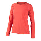 NRS NRS Women's H2Core Silkweight Long Sleeve Shirt Coral Heather XL SALE
