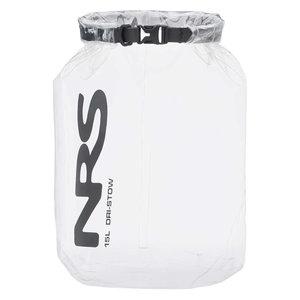 NRS NRS Dri-Stow Dry Sack 15L Clear SALE!
