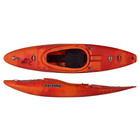 "Pyranha Pyranha Ripper Large Orange Soda 8'1"" USED jteaa"