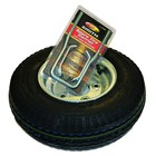 "Malone Malone Trailer Ecolight Spare Tire w/ Locking Attachment (8"" galvanized)"