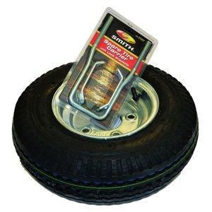 """Malone Malone Trailer Ecolight Spare Tire w/ Locking Attachment (8"""" galvanized)"""