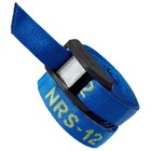 "NRS NRS 1"" HD Buckle Bumper Straps (PR) Blue 12' CLOSEOUT"