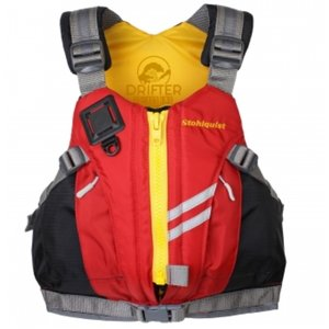 Stohlquist Drifter PFD Youth 75-125 lbs Red