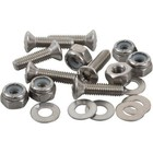 "Sealect Designs #10-32 x 1"" Pan Head w/ Nyloc Nut and Washer (6 Pack)"