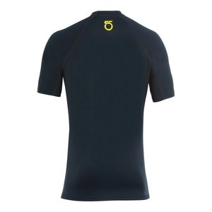 SeasonFive SeasonFive Men's Barrier Short Sleeve Crew-Neck Shirt Black SM