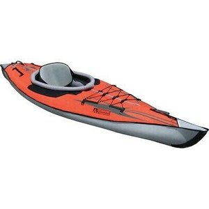 "Advanced Elements AdvancedFrame Kayak 10'5""Red/Gray"