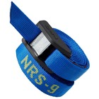 "NRS NRS 1"" HD Buckle Bumper Straps (PR)  Blue 9' CLOSEOUT"