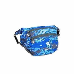 Geckobrands Geckobrands Waterproof Lightweight Dry Bag Waist Pouch - Ocean Geckoflage