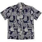 Waimea Casuals Waimea Casuals Men's Camp Shirt - Tapa Pineapple