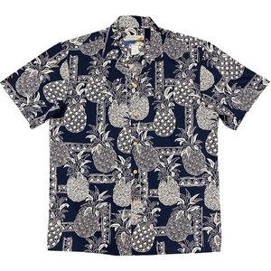 Waimea Casuals Waimea Men's Shirt - Tapa Pineapple