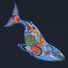 Liberty Graphics Liberty Graphics Earth Art Whale T-Shirt