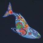 Liberty Graphics Liberty Graphics Earth Art Whale Youth T-Shirt