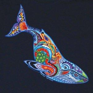 Liberty Graphics Liberty Graphics Earth Art Whale Youth T-Shirt