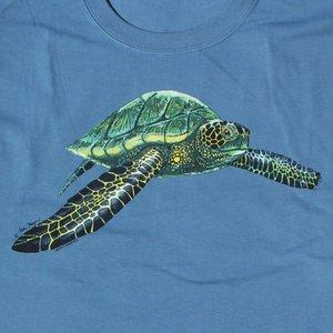 Liberty Graphics Liberty Graphics Green Sea Turtle T-Shirt