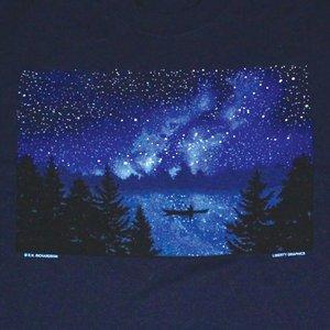 Liberty Graphics Liberty Graphics Night Kayaker T-Shirt