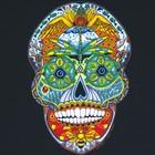 Liberty Graphics Liberty Graphics Earth Art Skull T-Shirt