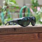 Sunglasses Cocoons L Black/Gray