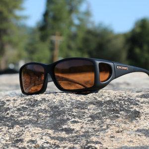 Sunglasses Cocoons ML Black/Amber